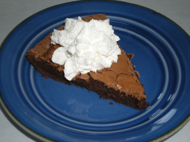 Magic Crust Fudge Pie